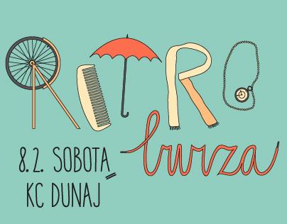 RETRO BURZA Posters - Season 2014