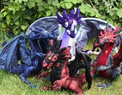 ooak dragons 2013