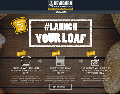 Newburn Bakehouse - Launch Your Loaf Campaign