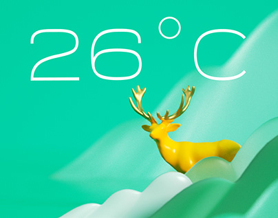 3DDAILY WEATHER UI - 每日打卡