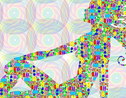 Ilustração Pop Art