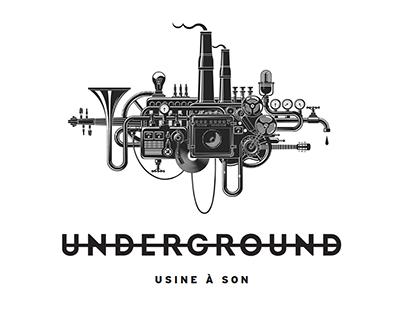 Underground - Usine à son (2015)
