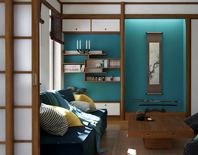 Nihon no Kanji - a Japanese inspired home