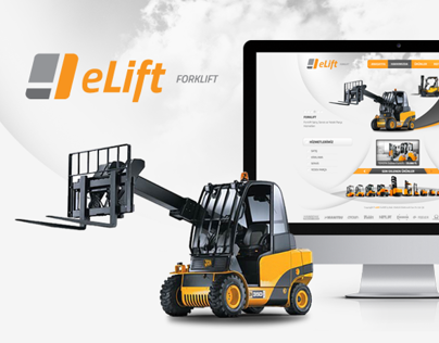 Elift Forklift Web Design