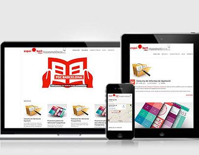 PSC BCN Website