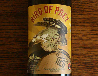 Graphic Design for Driftwood Brewery's Bird of Prey