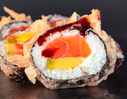 Monster Sushi Website e-commerce