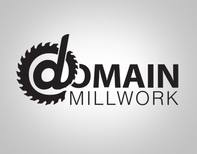 Domain Millwork Logo Design
