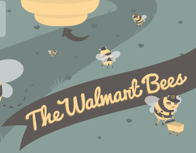 The Walmart Bees: Infographic