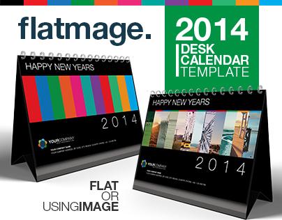 Flatmage Calendar Template