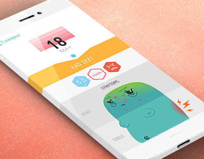 Period Tracker - iPhone App