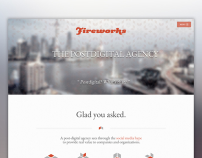 Fireworks.cn.com Redesign