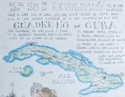 Cuaderno de Cuba / Cuba Sketchbook