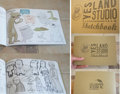 YesLand Studio Sketchbook