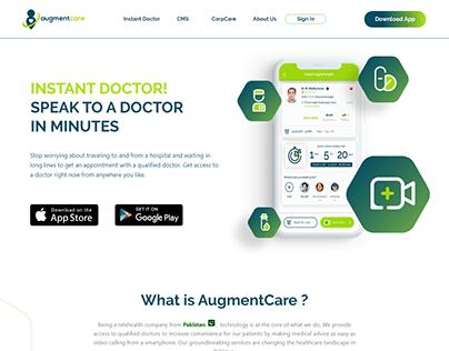 AugmentCare Website Design