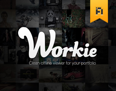 Workie — Clean offline viewer for your portfolio