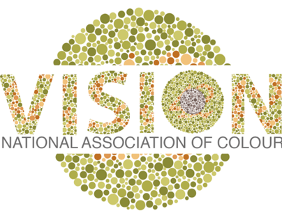 Vision National Association of of colour Logo