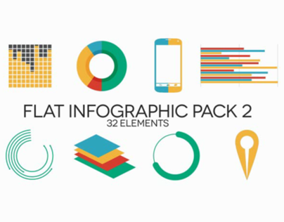 Flat Infographic Pack 2