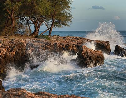 Ocean off Oahu