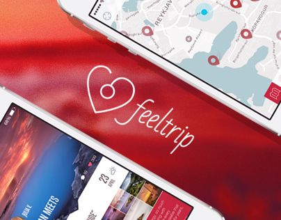 Feeltrip Iceland App Design