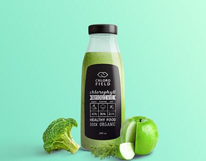 Smoothie. Full Branding Identity & Packaging Design