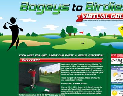 Bogeys to Birdies Website