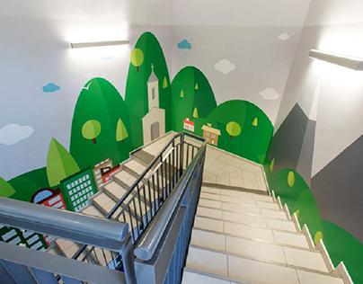 Catholic nursery wall decoration