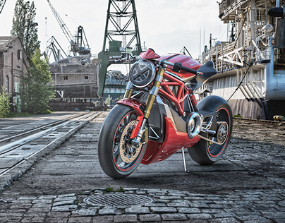 Ducati Monster Electric Concept '18 (WIP)