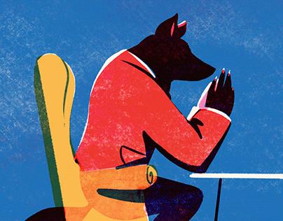 Mr. Wolf, Consultant