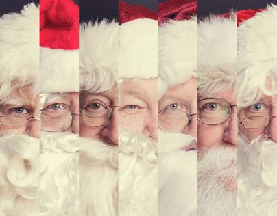 The Many Faces of Santa