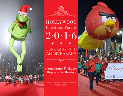 Hollywood Christmas Parade Marketing