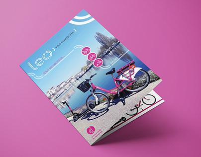 Plaquette de promotion Leo 2 roues (Auxerre)