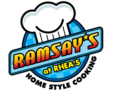 Identity Design for Ramsay's at Rhea's