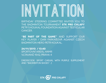 invitation and poster