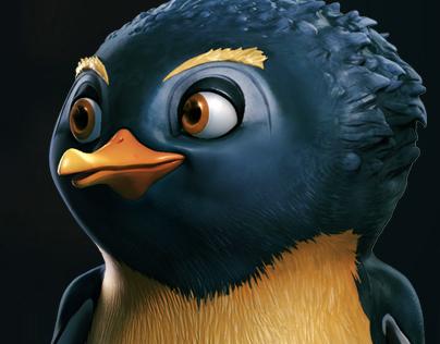 Kriss the penguin
