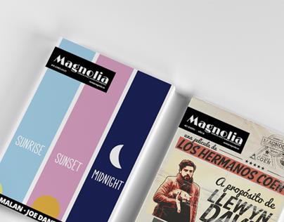 Revista Magnolia - Portadas (2012 - 2016)