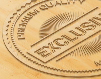 Perspective Wooden Logo Mock-ups
