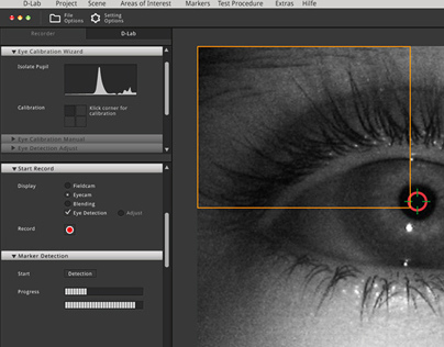 Redesign of Eye Tracking System