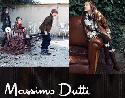 Massimo Dutti Microsite
