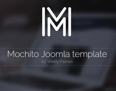 Mochito - One Page Portfolio Joomla template