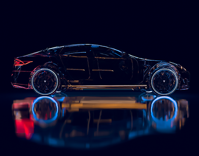 Tesla | Yamaha: 3D design & Animation (Motion design)