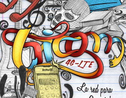 """Tricom Lettering"""