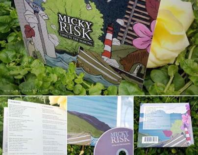 CD Digipak Design for Micky Risk