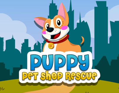 Puppy Pet shop Rescue App