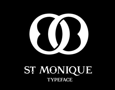 St. Monique Typeface