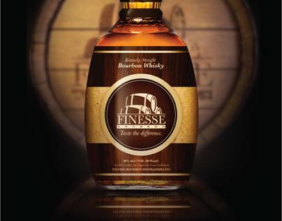 Finesse Bourbon Branding