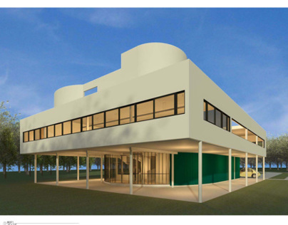Villa Savoye-Revit Construction Documentation