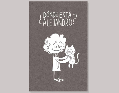 Picture Book: ¿Dónde está Alejandro?