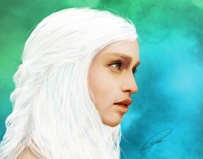 Daenerys Targaryen Digital Painting