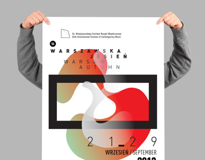 Warsaw Autumn Posters 2013